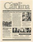 CCU Newsletter, February 21, 2000