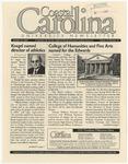 CCU Newsletter, October 23, 2000