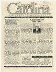 CCU Newsletter, January 8, 2001