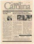 CCU Newsletter, April 23, 2001