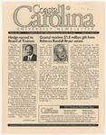 CCU Newsletter, August 20, 2001