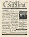 CCU Newsletter, May 19, 2003