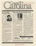 CCU Newsletter, October 27, 2003