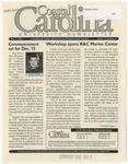 CCU Newsletter, December 8, 2003