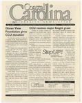 CCU Newsletter, August 15, 2005 by Coastal Carolina University