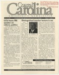 CCU Newsletter, October 10, 2005 by Coastal Carolina University