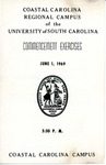 Commencement Program, June 1, 1969