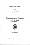 Commencement Program, May 5, 1979