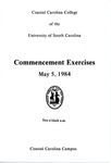 Commencement Program, May 5, 1984