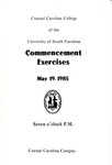 Commencement Program, May 19, 1985