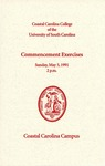 Commencement Program, May 5, 1991