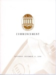 Fall Commencement Program, December 11, 1999