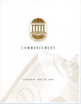Spring Commencement Program, May 10, 2003
