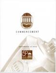 Fall Commencement Program, December 13, 2003