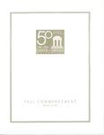 Fall Commencement Program, December 11, 2004