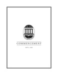 Spring Commencement Program, May 6, 2006