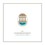 Summer Commencement Program, August 4, 2017 by Coastal Carolina University