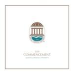 Commencement Program, December 18, 2020