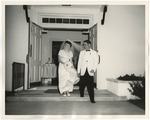 A bride and groom exiting First United Methodist Church by Lonnie W. Fleming Sr.