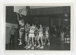 A basketball game by Lonnie W. Fleming Sr.