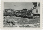Debris left by Hurricane Hazel by Josiah Byrd
