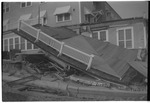Home loses roof to Hurricane Hazel by Thomas B. Cooper