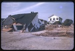 Destroyed home left by Hurricane Hazel by Leroy Ryan