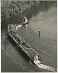 Tugboat pulling timber by Horry County Historical Society