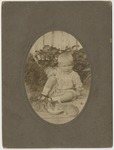 Child with kittens by Horry County Historical Society