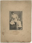 Mildred, Mrs. M.W. Collins's nurse. (around 1905) by Horry County Historical Society