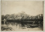 3rd Avenue Bridge closed due to high water in 1928. by Horry County Historical Society
