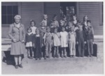 First grade class of Good Hope School in 1946. by Horry County Historical Society
