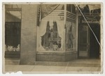 South window of Conway Drug Co. in 1914. by Horry County Historical Society