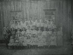 Allen School 1905-1906 by Horry County Historical Society