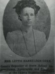 Mrs. Lettie Harrelson Gore by Horry County Historical Society