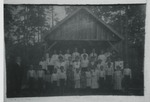Halfway School (1905) by Horry County Historical Society