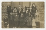 LeeHard Bryan (front row, at very right) with her students by Horry County Historical Society
