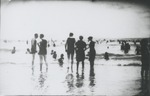 Women at the ocean's edge. by Horry County Historical Society