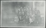 Group on front porch steps by Horry County Historical Society