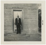 Mr. Willie Rowe at Salem Methodist Church by Horry County Historical Society