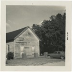 Salem Methodist Church in October of 1968 by Horry County Historical Society