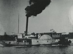 Sidewheel steamboat of F.G. Burroughs by Horry County Historical Society