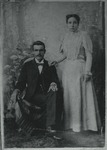 Photo of a husband and wife by Horry County Historical Society
