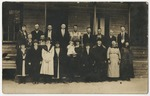 Maple Night School for Adults in 1921. by Horry County Historical Society