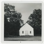 Unidentified church. (Painted white) by Horry County Historical Society