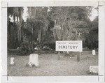 Withers Memorial Cemetary in Myrtle Beach, S.C.. by Horry County Historical Society