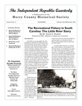Independent Republic Quarterly, 2009, Vol. 43, No. 1-4 by Horry County Historical Society