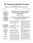 Independent Republic Quarterly, 2010, Vol. 44, No. 1-2 by Horry County Historical Society