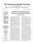 Independent Republic Quarterly, 2010, Vol. 44, No. 3-4 by Horry County Historical Society