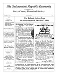 Independent Republic Quarterly, 2011, Vol. 45, No. 1 by Horry County Historical Society